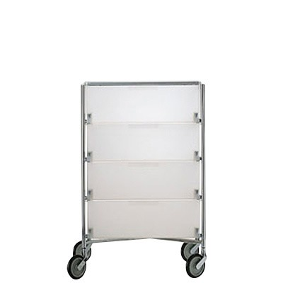 Kartell Mobil 4 Container Mit Rollen Ambientedirect