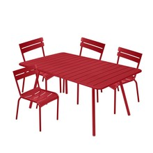 Fermob - Luxembourg Garden Set 4 Chairs