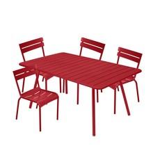 Fermob - Luxembourg - Ensemble de jardin 4 chaises