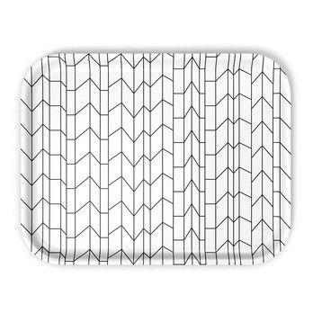 Vitra - Classic Tray Graph Tablett - weiß/LxBxH 46x36x2cm