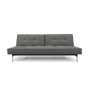 splitback schlafsofa chrom innovation. Black Bedroom Furniture Sets. Home Design Ideas