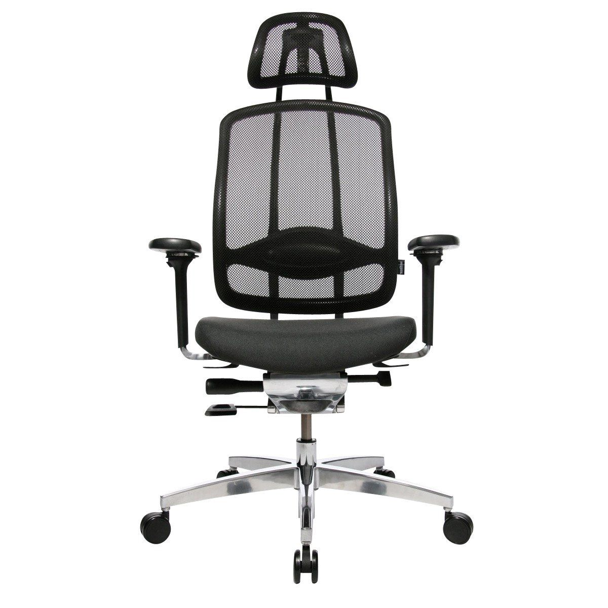 Wagner Alumedic 10 Office Chair Breathable Mesh Cover Black Fabric