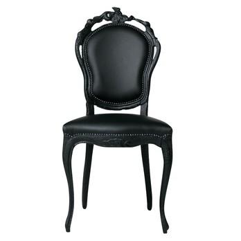 Moooi - Smoke Dining Chair Stuhl - schwarz/Leder