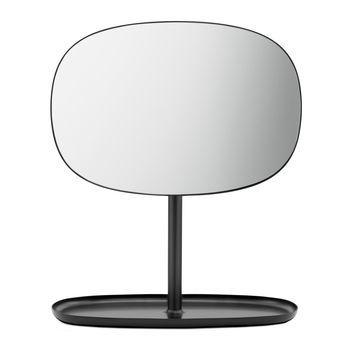 Normann - Flip Kosmetikspiegel - schwarz