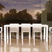 Vondom - Frame Gartentisch - weiß/matt