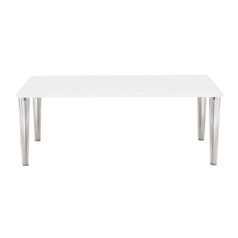 Kartell   Top Top Dinner Table 190   White/glossy/190x90cm