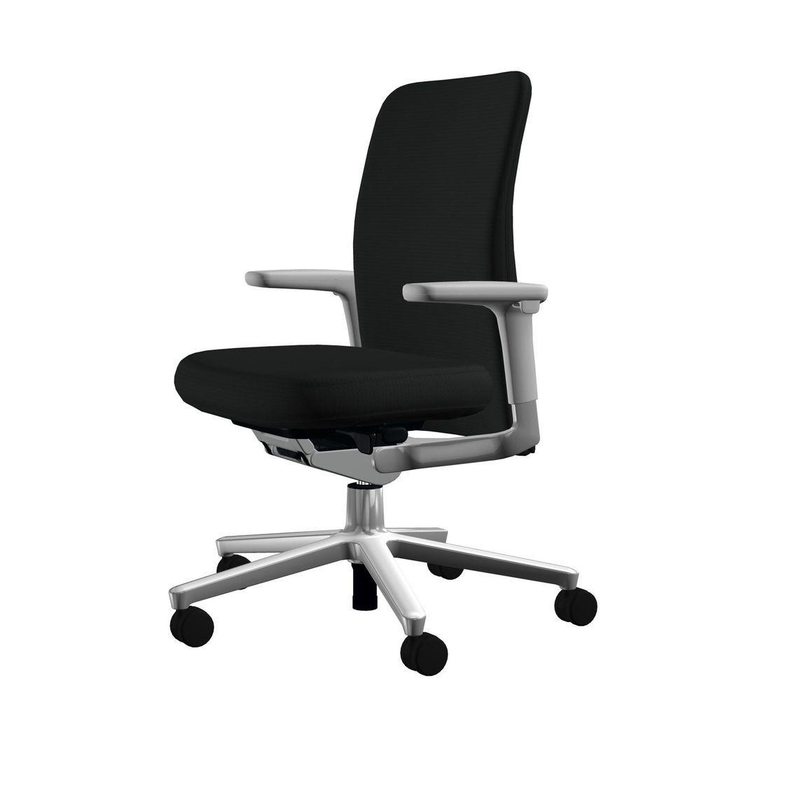 pacific chair chaise de bureau bas du dos vitra. Black Bedroom Furniture Sets. Home Design Ideas