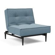 Innovation - Splitback Styletto Sessel Holz schwarz