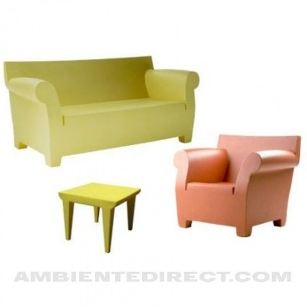 bubble club sofa zweisitzer kartell. Black Bedroom Furniture Sets. Home Design Ideas