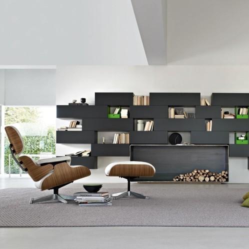 Vitra - Eames Lounge Chair Sessel & Ottoman