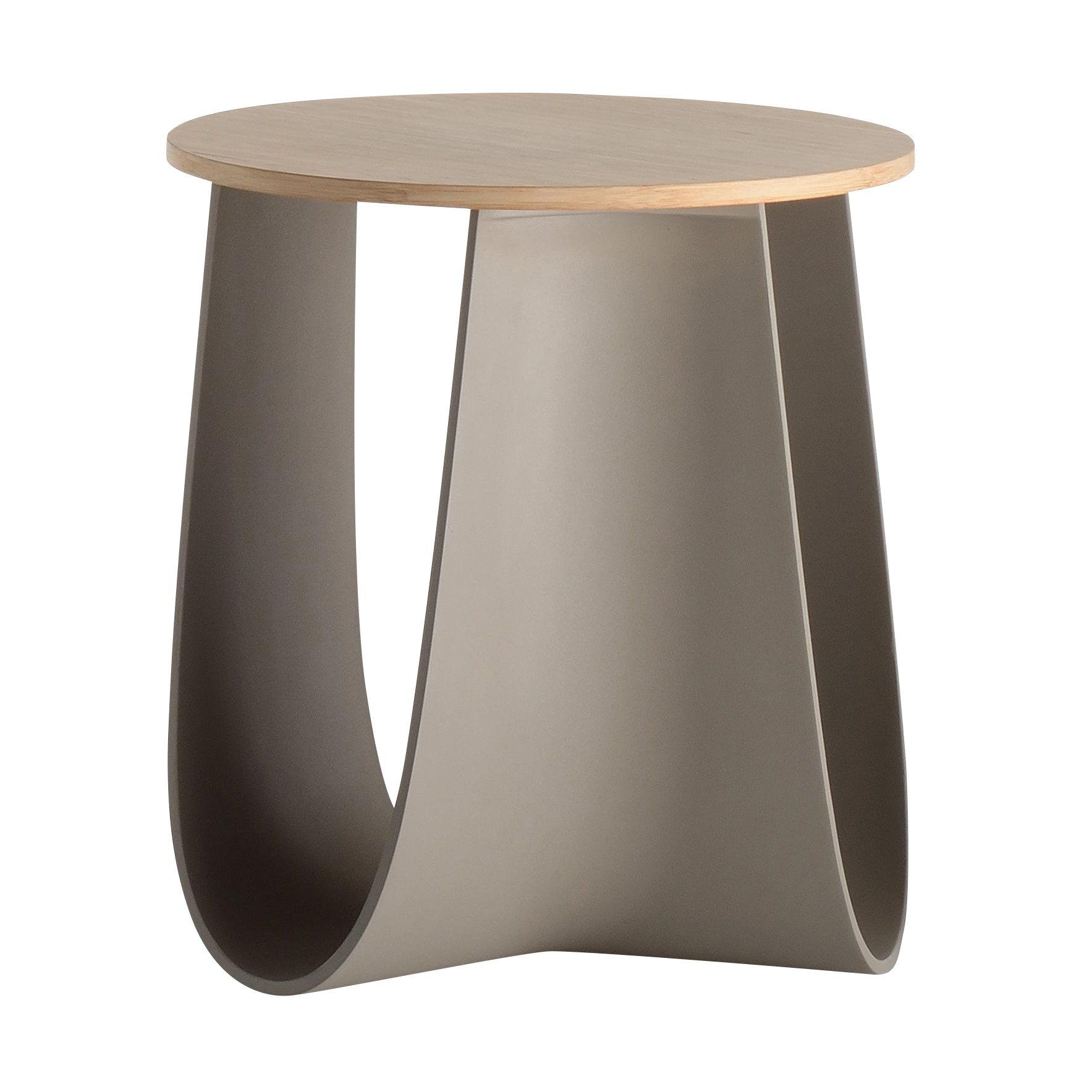 Mdf Italia Sag Stool Side Table Ambientedirect