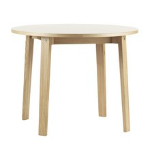 Normann Copenhagen - Slice - Table de salle à manger Ø120cm