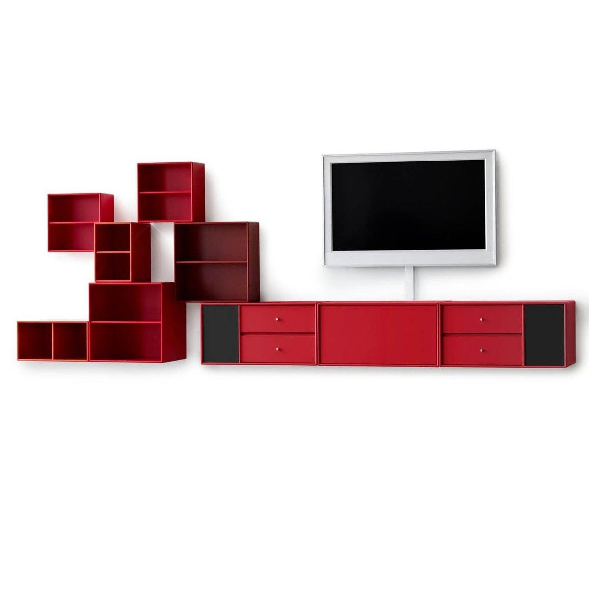 montana tv hi fi lowboard montana audio high tech. Black Bedroom Furniture Sets. Home Design Ideas