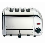 Dualit - Vario Toaster 4 slices - polished/chrome polished/with trigger switch