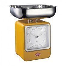 Wesco - Wesco Retro Scales with clock