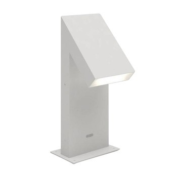 Artemide - Chilone Terra 45 LED Outdoor Bollard Lamp - grey/lacquered/LxWxH 17.5x16.7x45cm/3000K/194lm