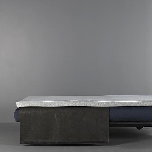 Innovation - Innovation Topper Matratzenauflage - grau/L x B x H : 120 x 200 x 5cm/Inklusive Beutel