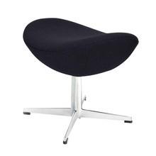 Fritz Hansen - Fritz Hansen Egg Chair/ Das Ei Fußhocker Stoff