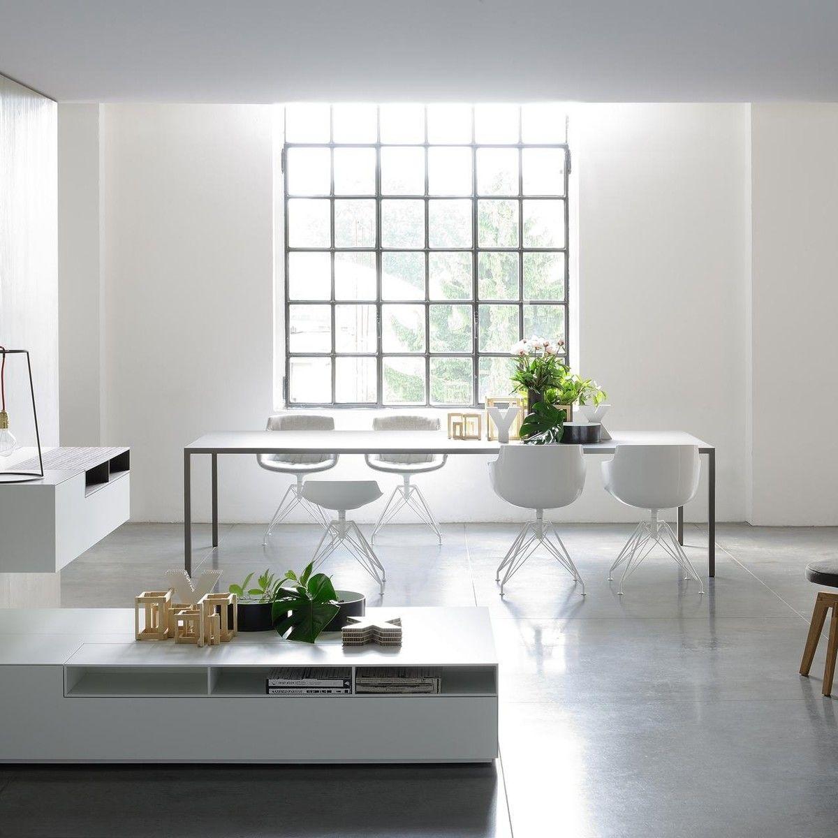 flow slim armchair frame lem mdf italia. Black Bedroom Furniture Sets. Home Design Ideas