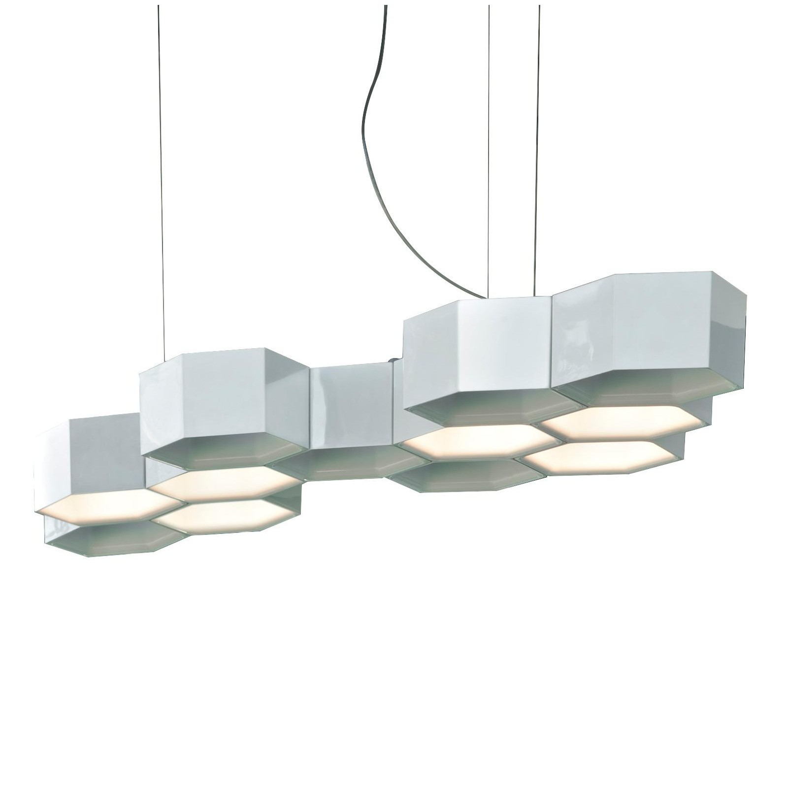 Honeycomb Led Suspension Lamp