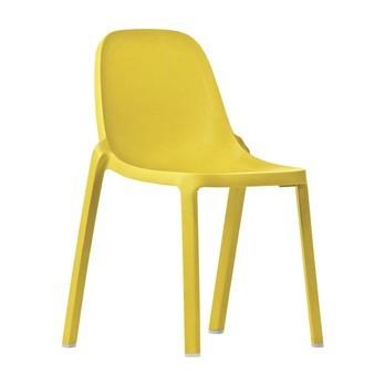 EMECO - Broom Chair Stuhl - gelb/H x B x T: 83 x 48 x 50cm