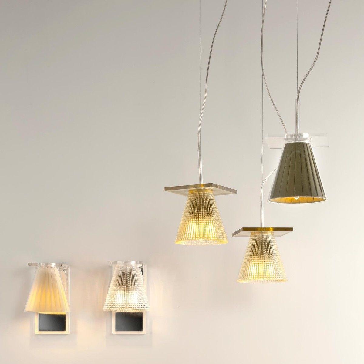light air suspension abat jour tissu kartell. Black Bedroom Furniture Sets. Home Design Ideas