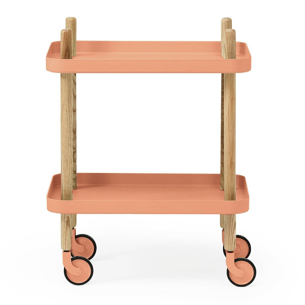 block side table trolley normann. Black Bedroom Furniture Sets. Home Design Ideas