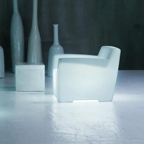 Gervasoni - InOut 101 L leuchtender Outdoor Loungesessel
