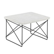 Vitra - Occasional Table LTR Marmor Gestell schwarz