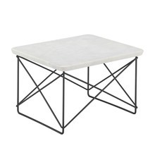 Vitra - Table d'appoint marbre Occasional Table LTR structure noire
