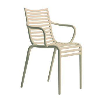 Driade - Pip-e Armchair - carnation nude DIC C104/matt/with armrest/new colour