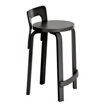 Artek - K65 High Chair Lacquered Base