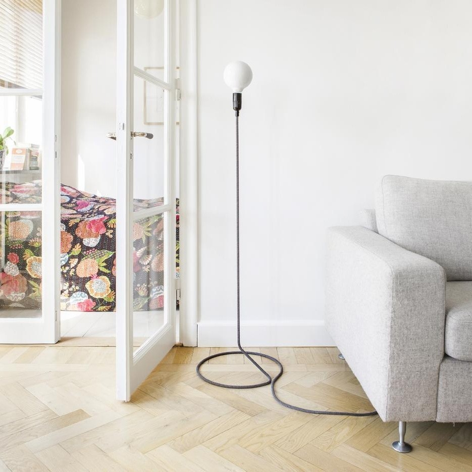 Design House Stockholm Cord Lamp Floor Lamp Ambientedirect
