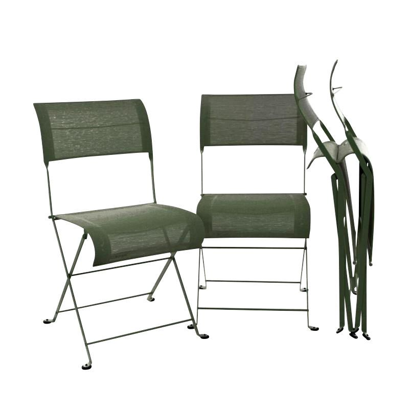 Dune folding chair 4 piece set fermob - Fermob duin ...