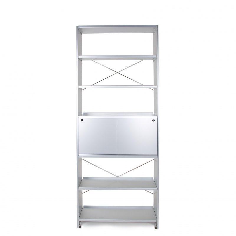 Lehni aluminium etag re de bureau lehni for Etagere bureau professionnel