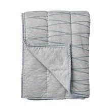 Bloomingville - Cool Grey Throw Tagesdecke
