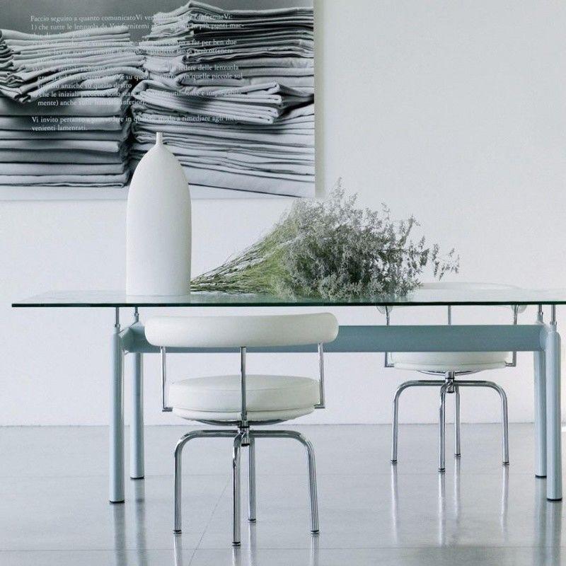 Le Corbusier LC7 Swivel Armchair   Cassina   AmbienteDirect.com