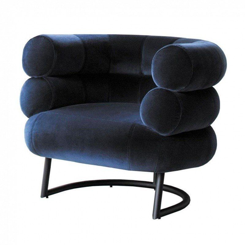 classicon bibendum fauteuil pi tement noir ambientedirect. Black Bedroom Furniture Sets. Home Design Ideas