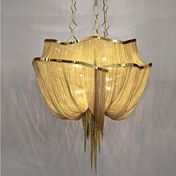 Terzani - Atlantis Suspension Lamp Ø90 - gold/glossy