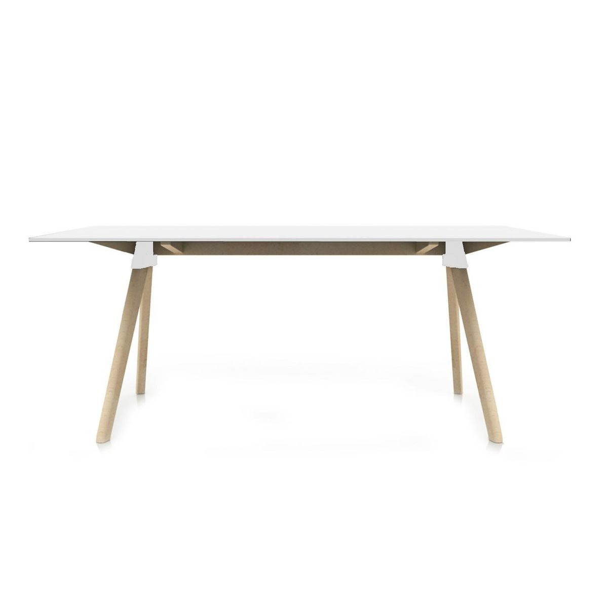 Butch the wild bunch table 129x75cm magis for Table exterieur hpl