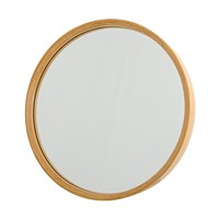 Bloomingville - Bloomingville Bamboo Wall Mirror Ø45cm