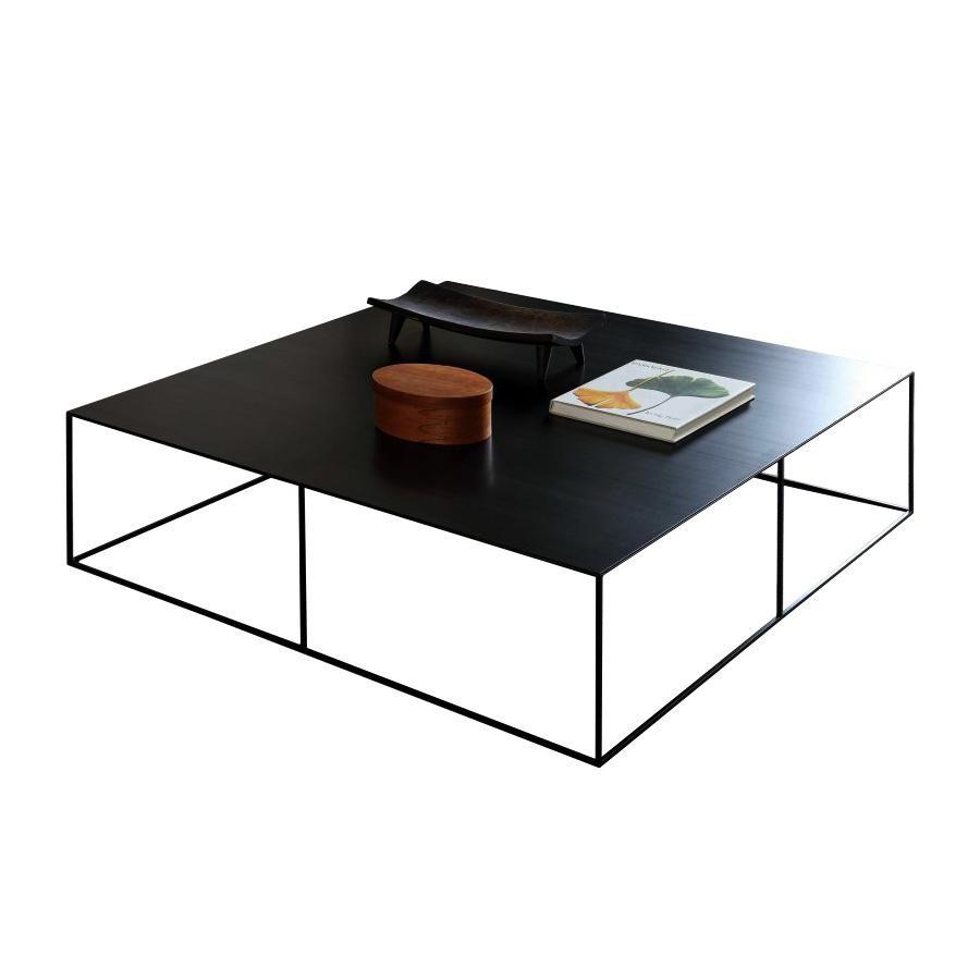Zeus Slim Irony Coffee Table 124x124cm Ambientedirect
