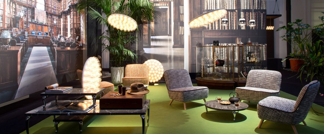 Kollektion Prop Light Cocktail Chair Moooi