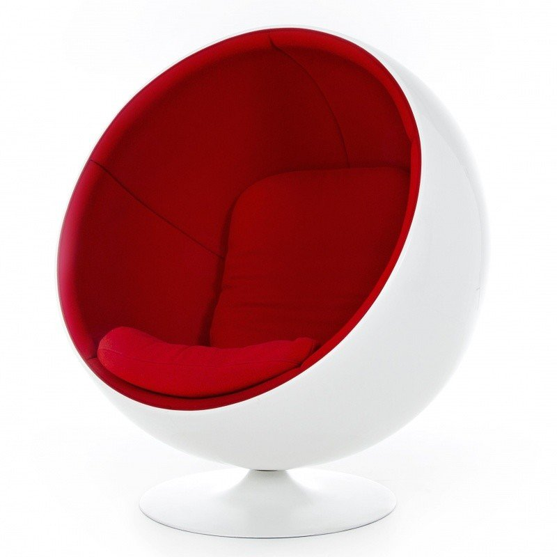 adelta ball chair fauteuil ballon ou globe ambientedirect. Black Bedroom Furniture Sets. Home Design Ideas