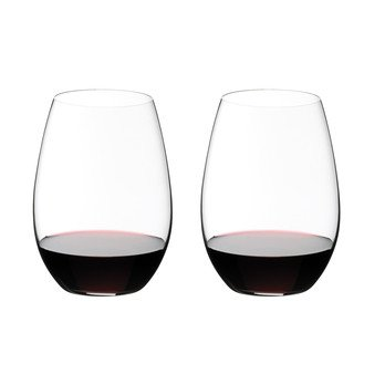 Riedel - O Wine Syrah/Shiraz Weinglas 2er Set - transparent/H 13,2cm, 620ccm