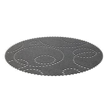 Hey-Sign - Stamp Teppich rund - grau/Filz/Ø150cm