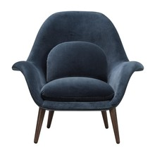 Fredericia - Swoon Armchair Smoked Oak Legs