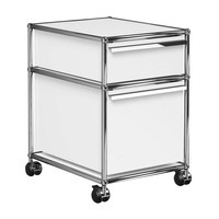 USM  Möbelbausysteme  - USM Container With Wheels & 2 Drawers