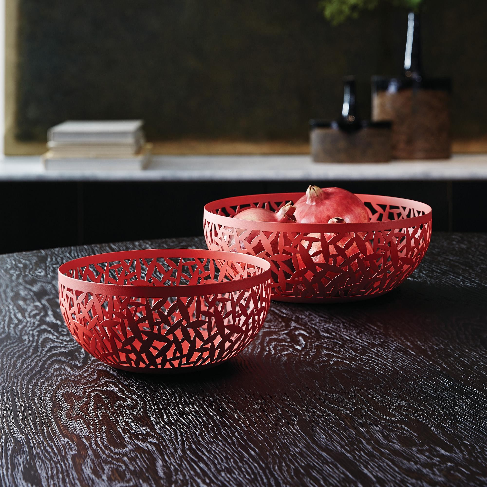Alessi 29 cm Cactus Fruit Bowl Black