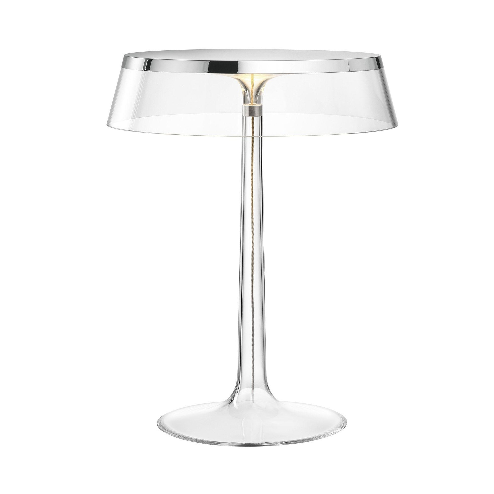 flos bon jour led table lamp chrome ambientedirect rh ambientedirect com